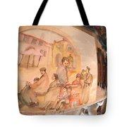 Italy Life Love Linguini Album Tote Bag