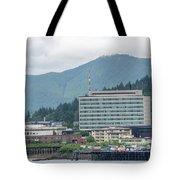 Juneau Alaska Usa Northern Town And Scenery Tote Bag
