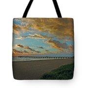 7- Juno Beach Pier Tote Bag