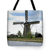 Kinderdijk Windmills Tote Bag