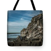 Le Mont Saint Michel Tote Bag