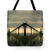 Lighthouse Reflections Tote Bag