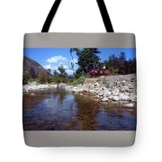 Lower Sisquoc River - San Rafael Wilderness Tote Bag