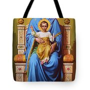 Madonna And Child Art Tote Bag