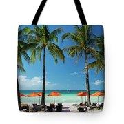 Main Beach Of Tropical Paradise Boracay Island Philippines Tote Bag