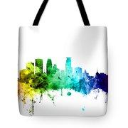 Minneapolis Minnesota Skyline Tote Bag