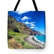Na Pali Coast Tote Bag