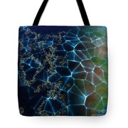 Network Planet Tote Bag