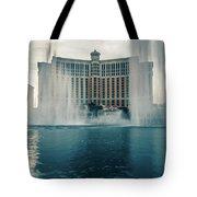 November 2017 Las Vegas Nv - Hotels And Restaurants On Las Vegas Tote Bag