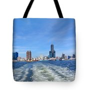 Panoramic View Of Kaohsiung City Tote Bag