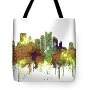 Pittsburgh Pennsylvania Skyline Tote Bag