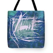 Pop Art Fish Poster Tote Bag