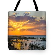 Red Sea Sunset Tote Bag
