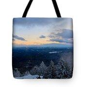 Spencer Butte Winter Summit, Eugene Oregon Feb 2018 Tote Bag