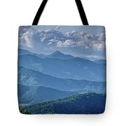Springtime In The Blue Ridge Mountains Tote Bag