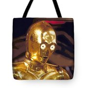 Star Wars 3 Poster Tote Bag