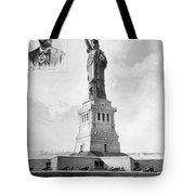 Statue Of Liberty, 1886 Tote Bag
