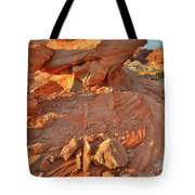 Sunrise On Valley Of Fire Tote Bag