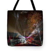 The Grateful Dead At Soldier Field Fare Thee Well Tour Tote Bag