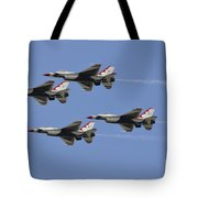 The U.s. Air Force Thunderbirds Fly Tote Bag