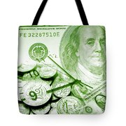 Time Is Money 16 Tote Bag
