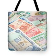 Travel Money - World Economy Tote Bag