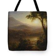 Tropical Scenery Tote Bag