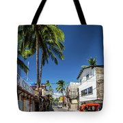 Tuk Tuk Trike Taxi Local Transport In Boracay Island Philippines Tote Bag