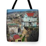Valparaiso, Chile Tote Bag