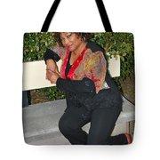 African American Female. Tote Bag