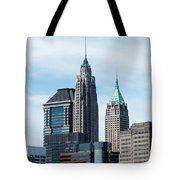 70 Pine And 40 Wall Street Tote Bag