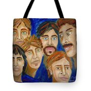 70s Band Reunion Tote Bag