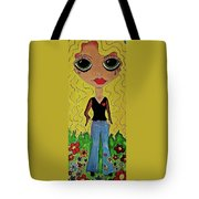 70's Girl Tote Bag