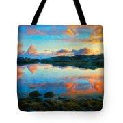 Landscape Nature Art Tote Bag