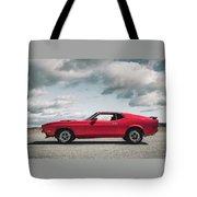 72 Mustang Tote Bag