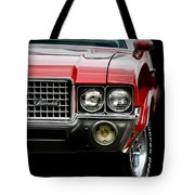 72 Olds Cutlass Tote Bag