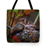 7389 All Feathered Out Tote Bag