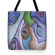 #758 Abstract Drawing Tote Bag