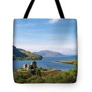 76. Eilean Donan Castle, Scotland Tote Bag