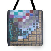 #767 Absttract Drawing Tote Bag