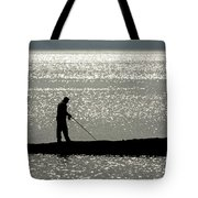 78. One Man And His Rod Tote Bag