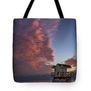 7826- Miami Beach Sunrise Tote Bag