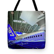 787 Tail Section Tote Bag