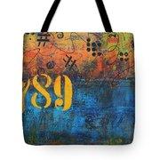 789 Street Blues Tote Bag