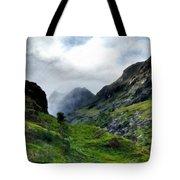 Landscape Graphics Tote Bag