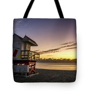 7901- Miami Beach Sunrise Tote Bag