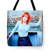 79361 Hayley Williams Paramore Women Singer Redhead Tote Bag