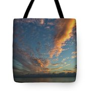 7972- Miami Beach Sunrise Tote Bag