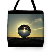 8-30-16--6270 Don't Drop The Crystal Ball, Crystal Ball Photography Tote Bag
