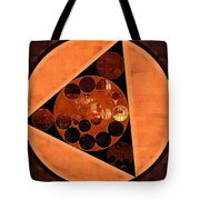Abstract Painting - Zinnwaldite Brown Tote Bag